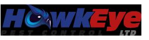Hawkeye pest control logo